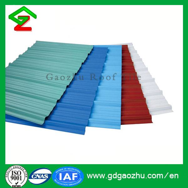 UPVC Roof Tiles from Gaozhu