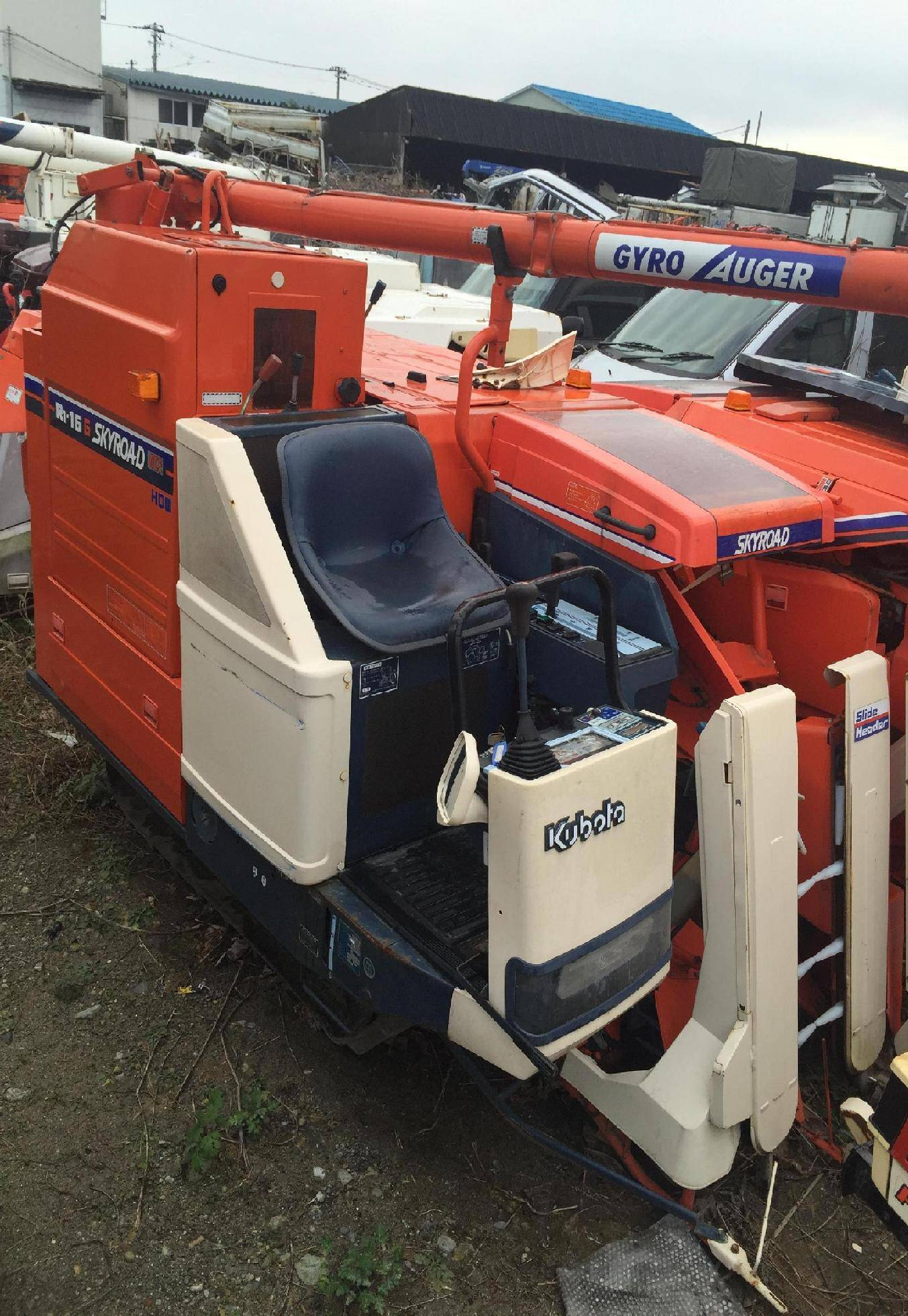 Used combine harvester Kubota R1-16G Unit 2