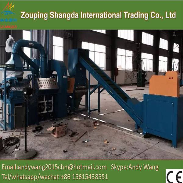 Rubber powder magnetic belt separator machinery