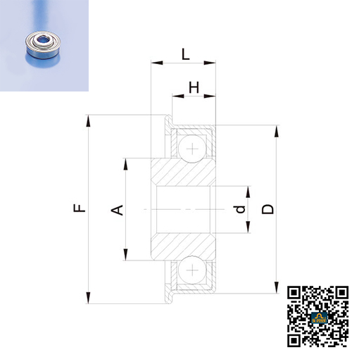 AJOHN All kinds rollers for sporting goods, furniture, garage door