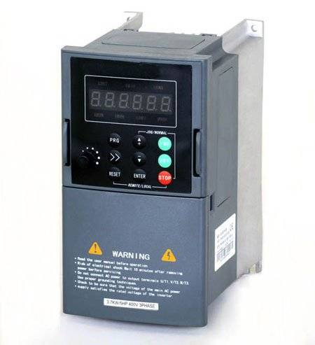 0.4-315KW 60hz 50hz to 0.1-400hz variable frequency converter for ac motor drive
