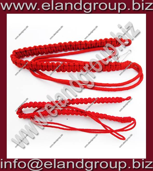 Military Security Officers Uniform Lanyard