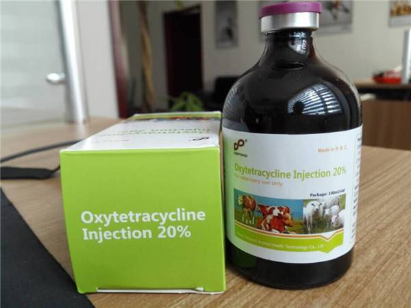 Oxytetracycline Injection 20% for Veterinary use only