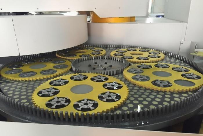 Powder metallury parts surface grinding machine