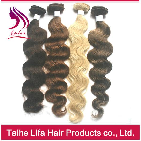 Remy Human Hair ombre hair weaves