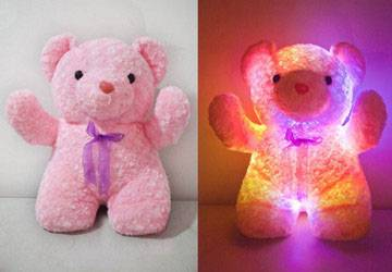 LED Plush Light Up Bear Toys