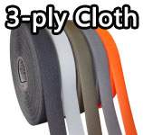 3-ply cloth tapes