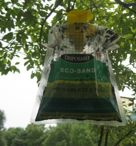 Newest outdoor fly trap disposable fly trap