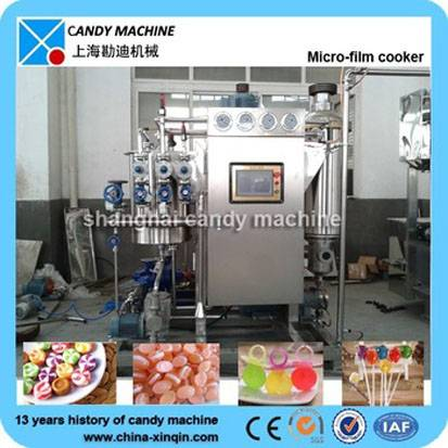 New designed hard candy making plant