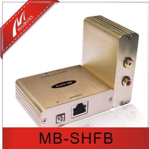 1-CH Stereo  Hi - Fi  Audio   Balun