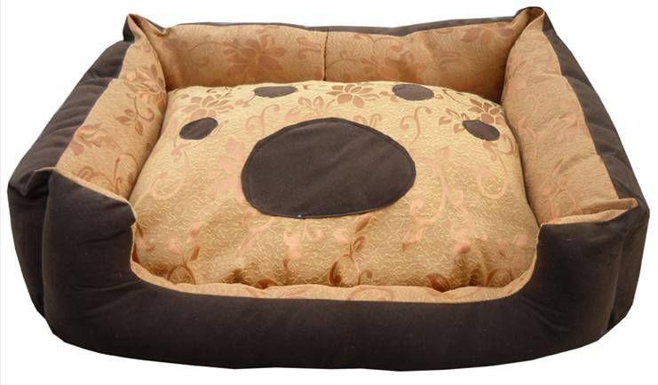 Fashionable soft pet bed