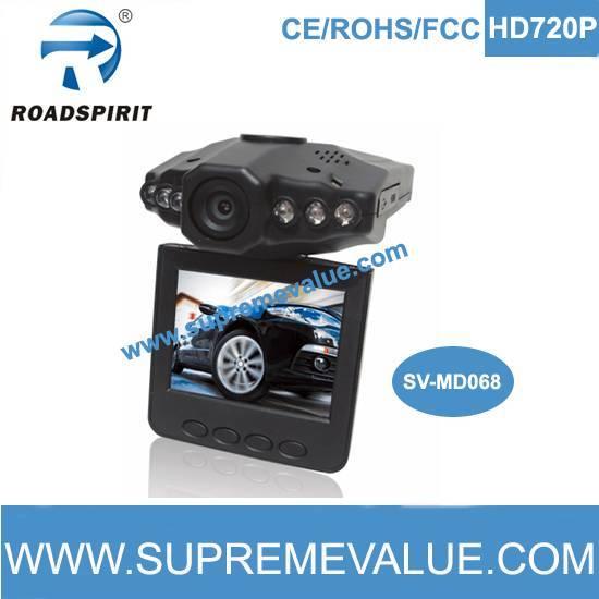 720p car camera recorder wih rotatable screen 270 degree