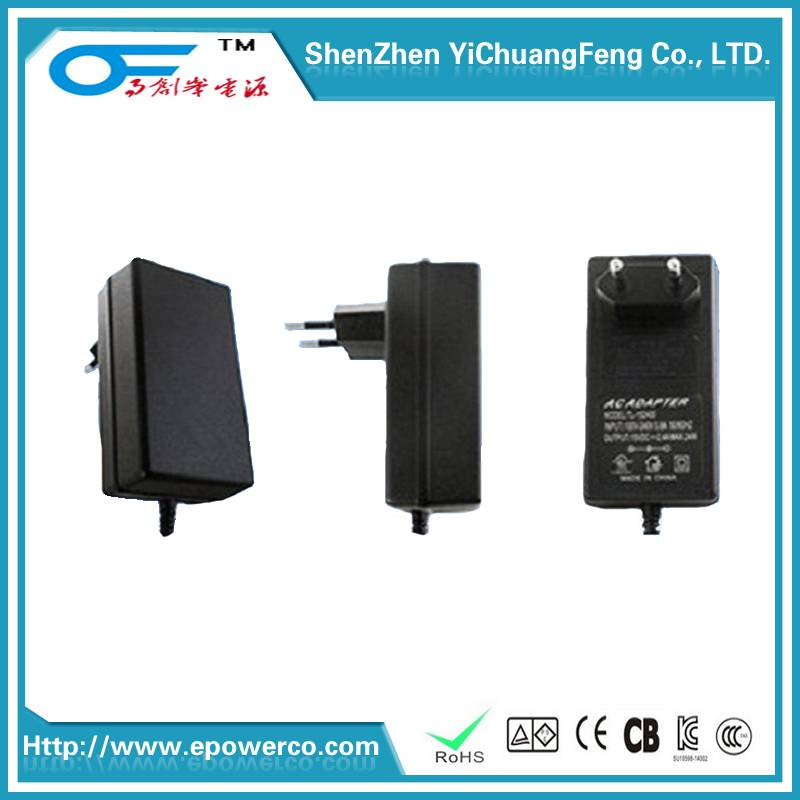 Changeable plug power adapter 9V3A/12V3A/18V2A/24V1.5A & Us/Europe/English/Korean/Australian rules i