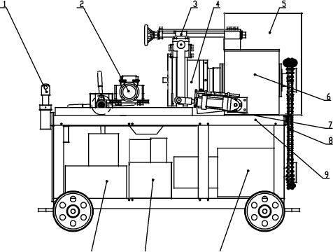 LWI-500 Type Rebar Threading Machine