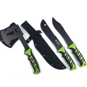 Fixde Blade Hunting Camping knife PP&TPR Handle outdoor