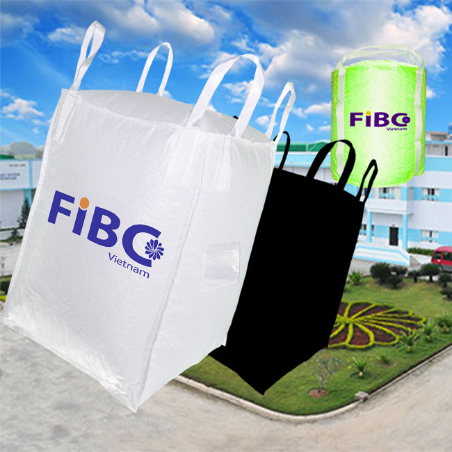 New PP Virgin Big FIBC Bulk Container Jumbo bag Woven Bag Super Sacks Packing For Charcoal Rice Sand