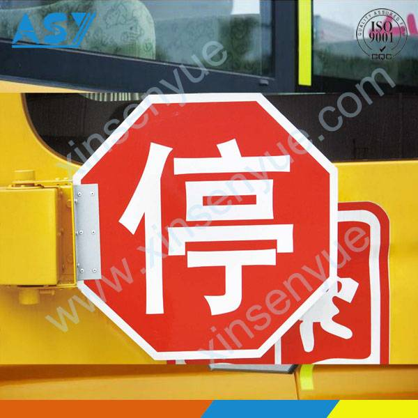 Informative Aluminum Printing Road Traffic Signal Bus Stop Sign
