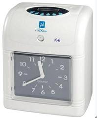Hot sell  time recorder  K-6