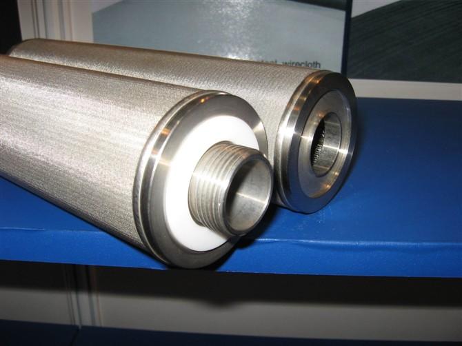 316L stainless steel sintered metal filter