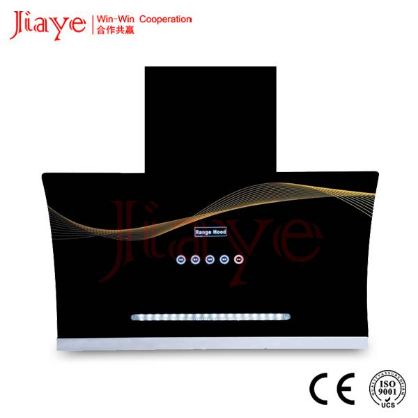 Jiaye automatic open range hood, 2015 best selling range hood JY-C9056