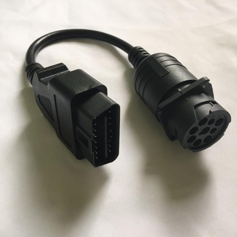 Duetsch Connector J1939 to Obdii Male Connector for Diesel/Truck OBD2 Scanner