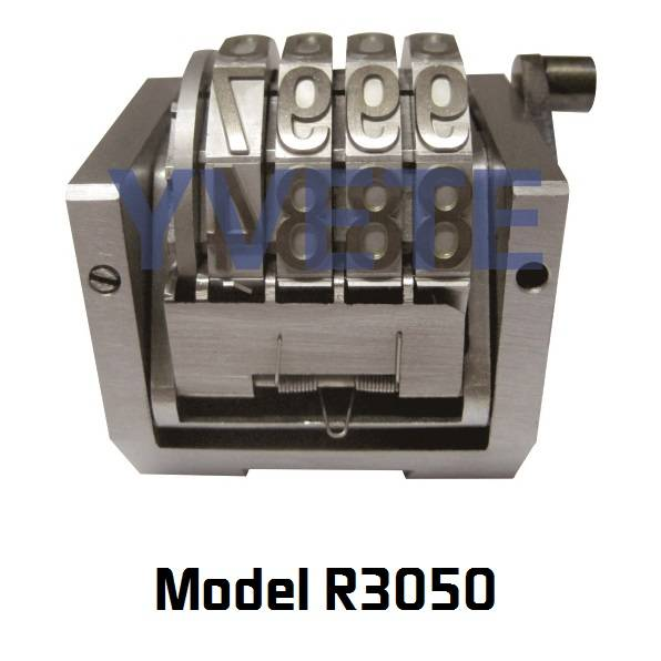 """1/2"""" font Rotary numbering machine"""