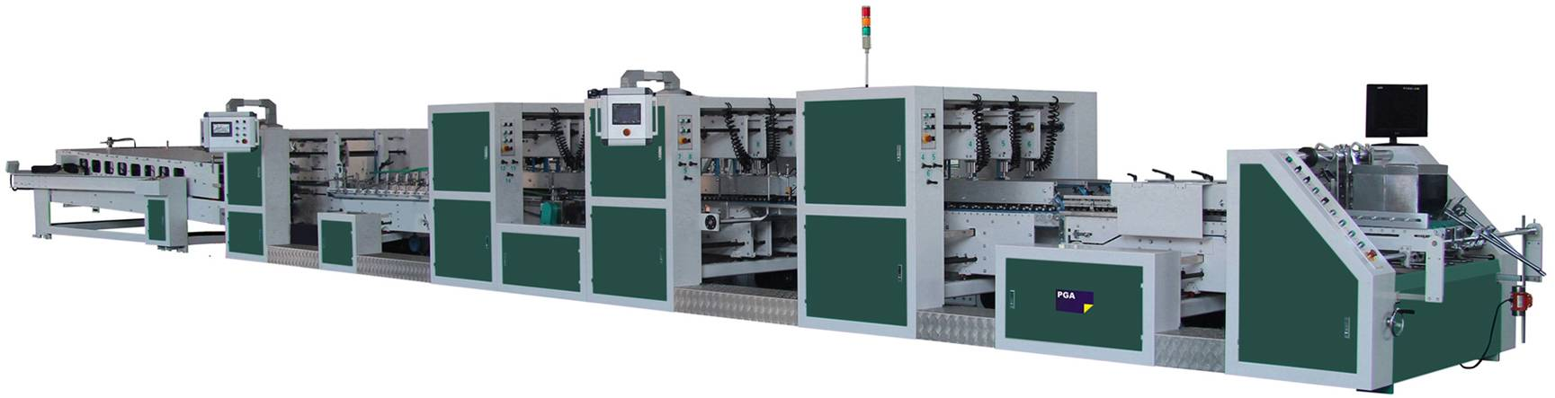 Automatic Folder Gluer Machine (BGM-1250A)