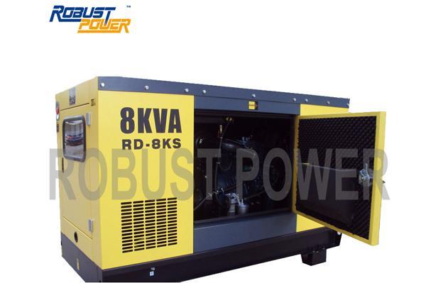 Four Stroke Kubota Diesel Generator Set (RD)