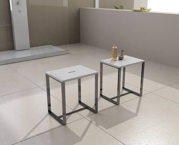 Modern Solid Surface Stone Stool(PB4006)