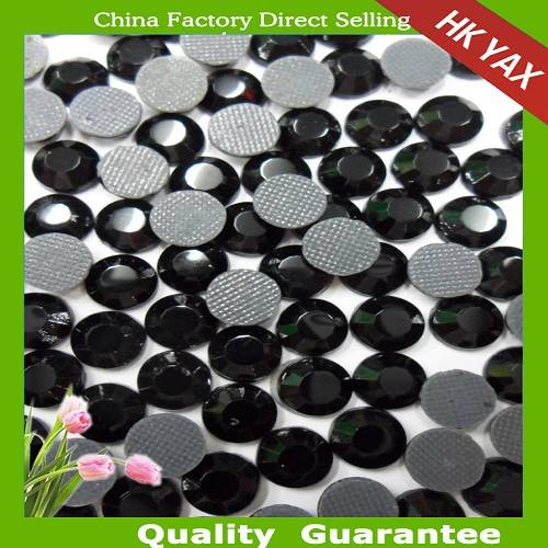 china factory wholesale jet color  YAX ROHS LAB store non pb rhinestones, non pb strass, non pb crys