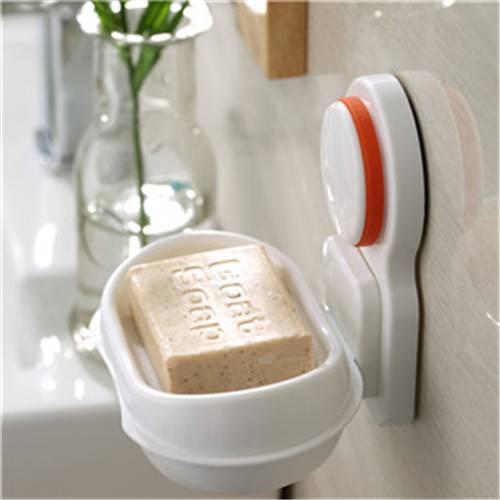 Soap Dishes Holder Organizer for Bathroom with Suction Cup