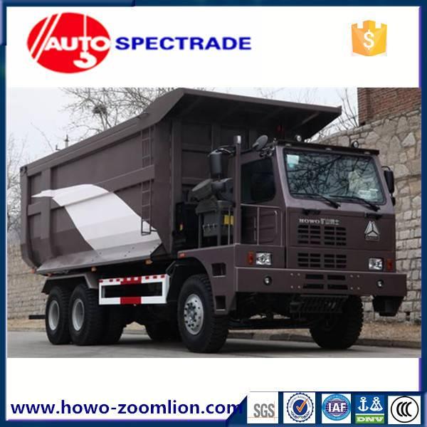 70 ton mining dump truck Sinotruk Howo