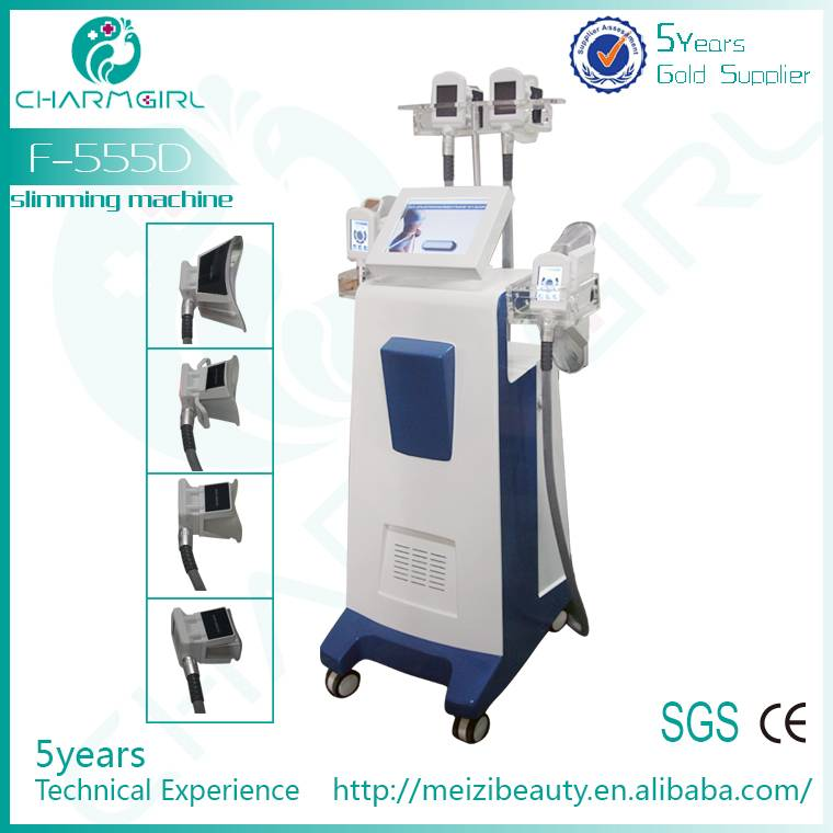 2014 fat freezing cryotherapy slimming machine/professional cryotherapy machine F-555D