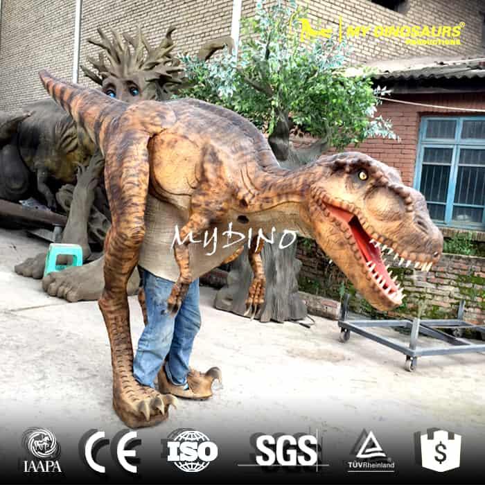 Easy Control Halloween Mascot Adult Dinosaur Costume