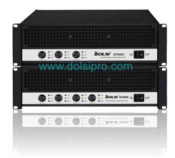 Multi-channel Professional Power Amplifier With Metal Sealed Output GF serie