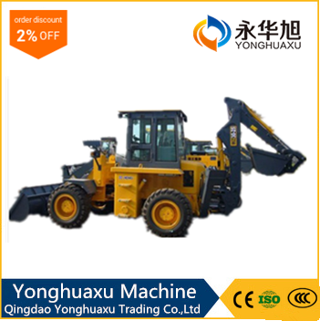 Pilot control hand operated telescopic wheel loader with competitive price