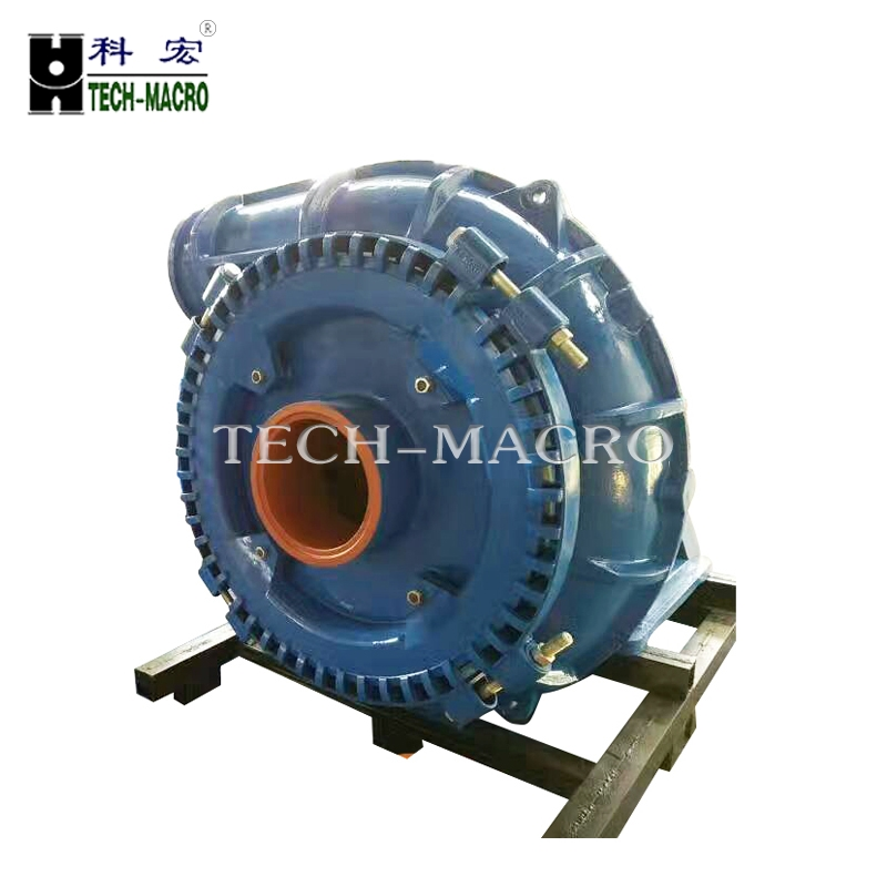 Heavy duty diesel engine centrifugal gravel sand dredger ultra chrome alloy sand pump