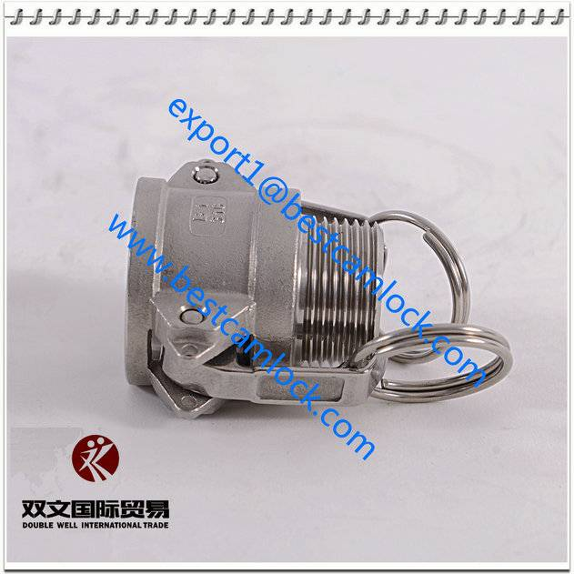 manufacture stainless steel Cam Lock Quick Release Coupling, cam lock hose fitting Type B