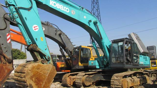 Second hand KOBELCO Excavator SK460,original from JAPAN