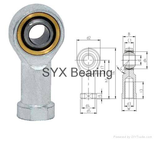 Rod end bearing SI10T/K