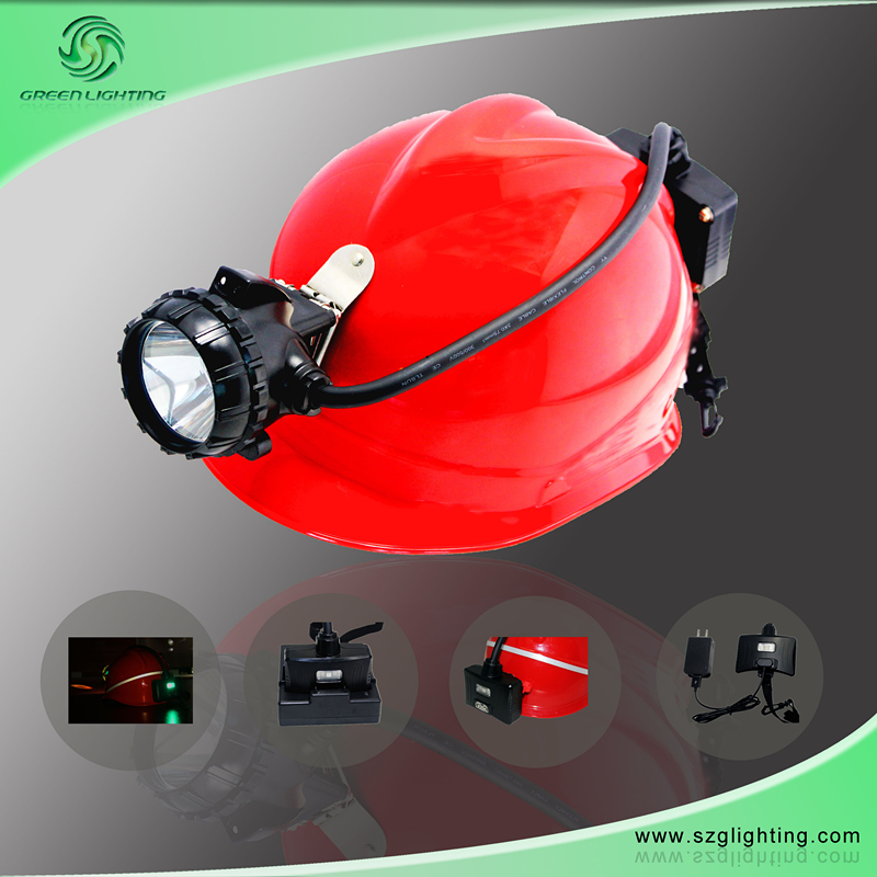 GS12-a Semi-Corded Cap Lamp with Rear Warning Light