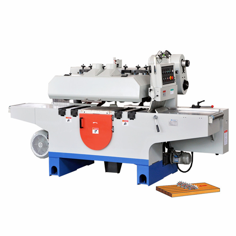 Automatic Square Woode Multi Blade Circle Rip Saw Machine