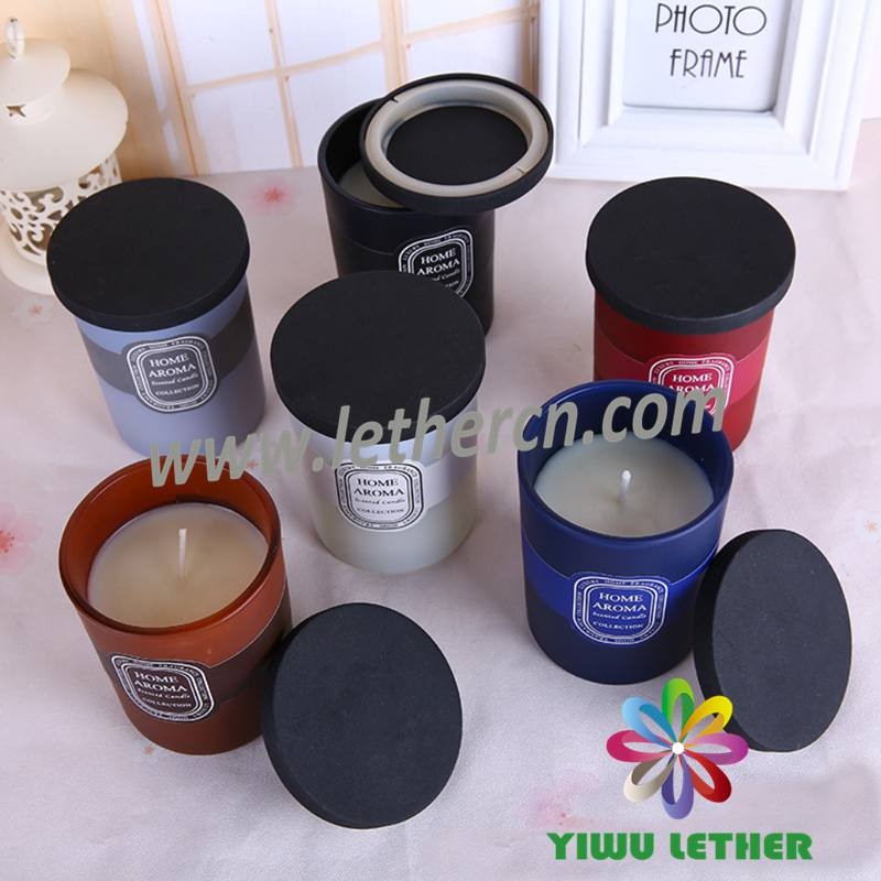 Wholesale Best Selling Scented Glass Candles with Cover Home Decoration Scented Candles
