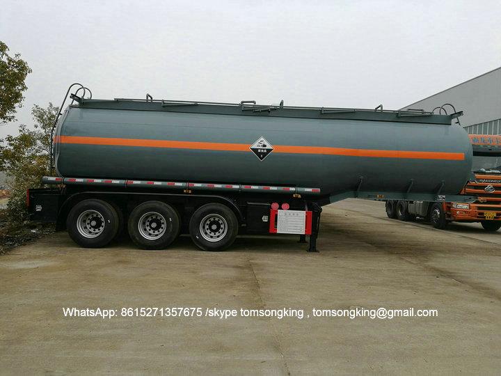 PHOSPHORIC ACID tanker Trailer