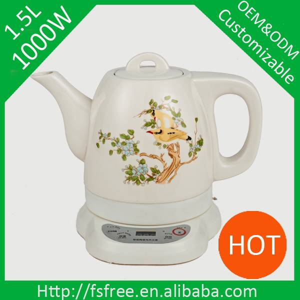 Promotion intelligent ceramic kettle electric kettle