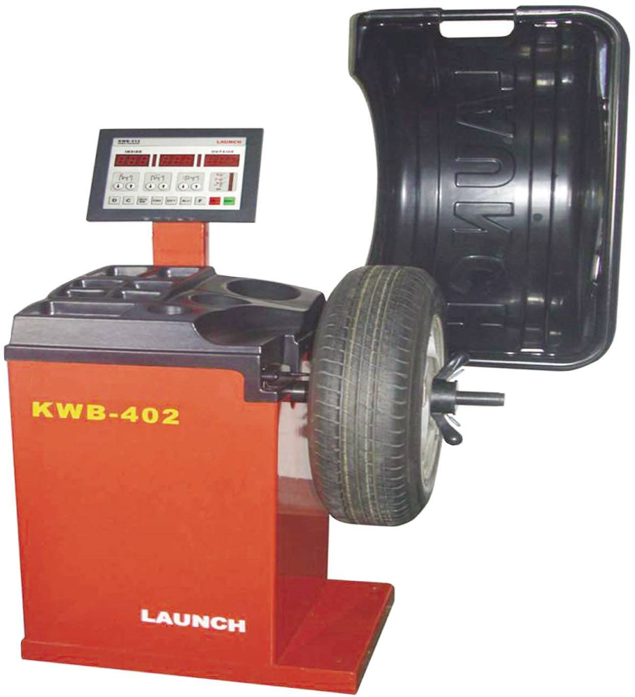 launch KWB-402 Wheel Balancer