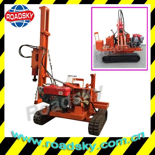 Hydraulic Road Safety Guardrail Installation Equipment