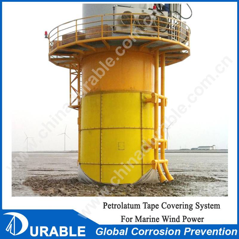 Marine anti-corrosion protection system for winder power