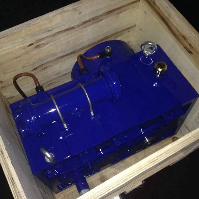 Single-screw extruder gear box