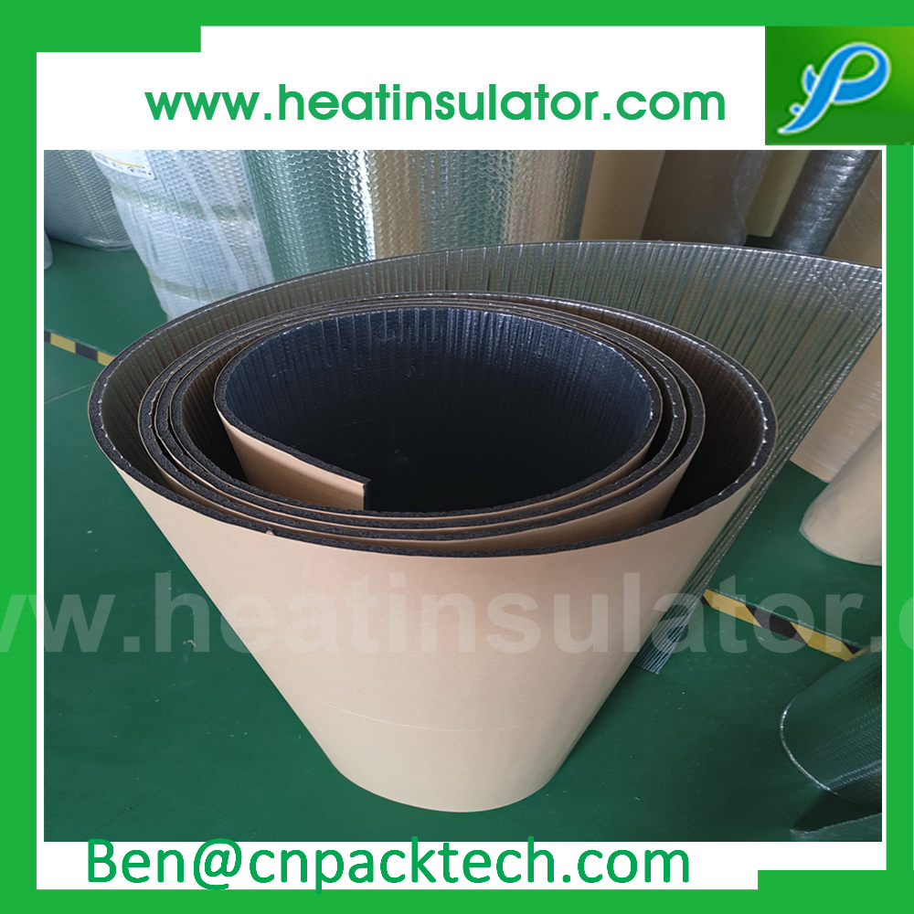 Sticky Back Air Conditioning Foil Foam Insulation Heat Barrier